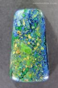 Brecciated Azurite, Malachite & Cuprite cabochon, Arizona USA. 47.34 carats. ** SOLD **